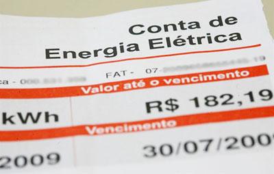 Você acompanha o controle de fornecimento de energia na sua conta?